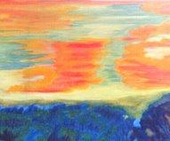 始めの油絵作品