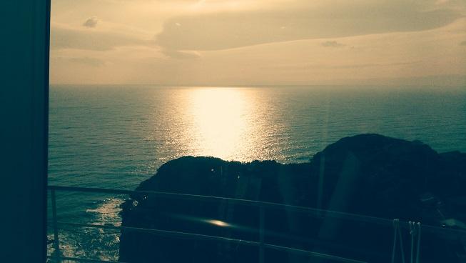 相模湾の風景
