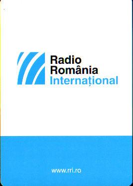 2016年1月19日 ロシア語放送受信 RADIO ROMANIA INTERNATIONAL(ルーマニア)