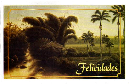 2016年 Radio Habana Cuba(キューバ)の年賀状とポケットカレンダー