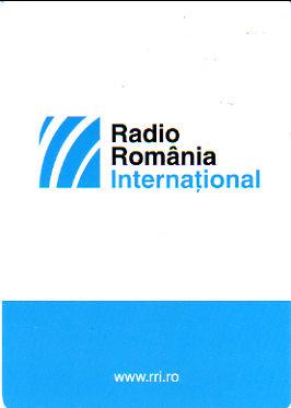2015年11月21日 英語放送受信 Radio Romania International(ルーマニア)