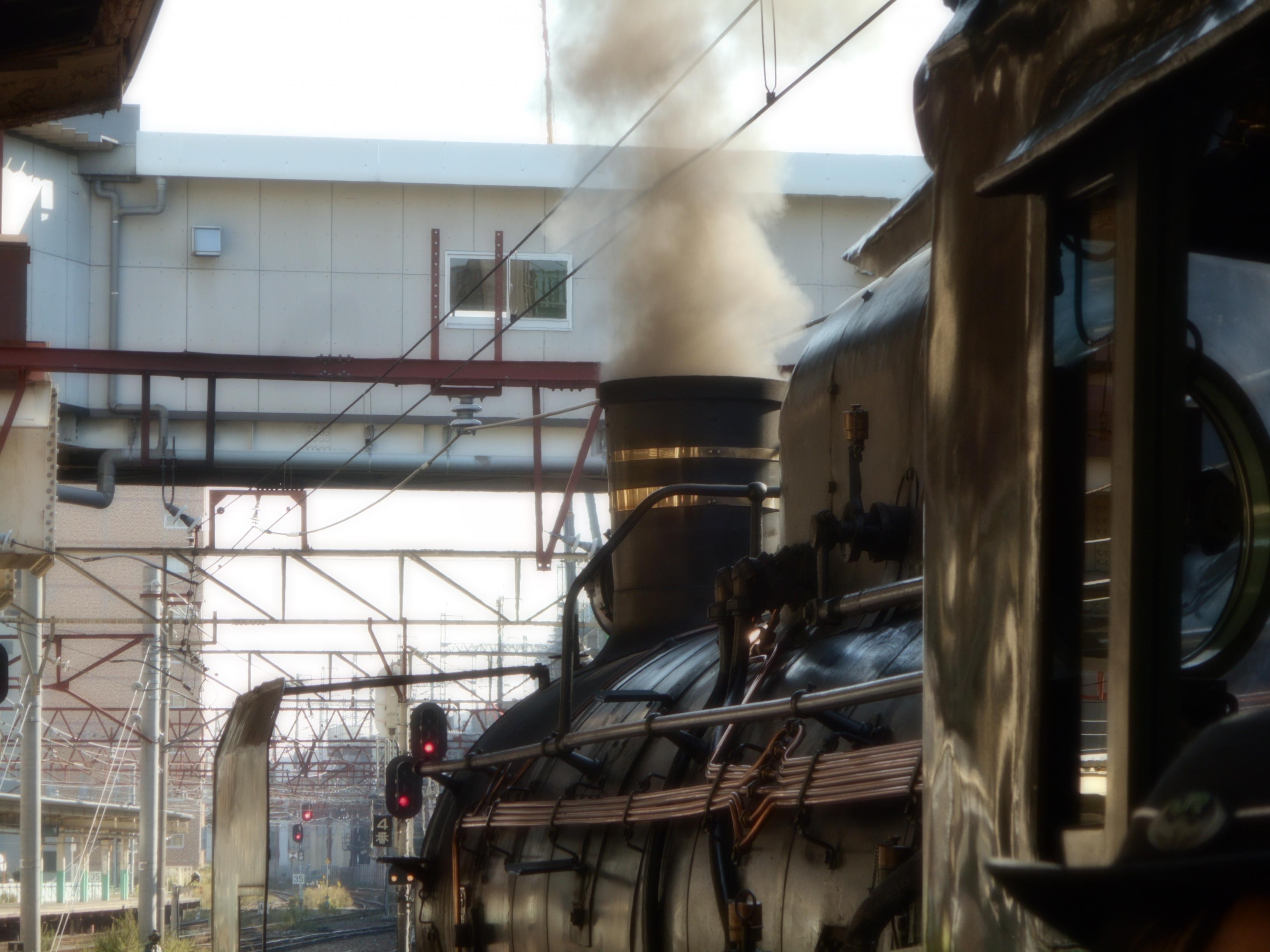 C57-180 新潟駅8時59分にて