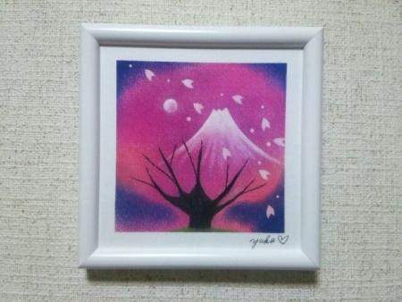 さくらと富士山20101024