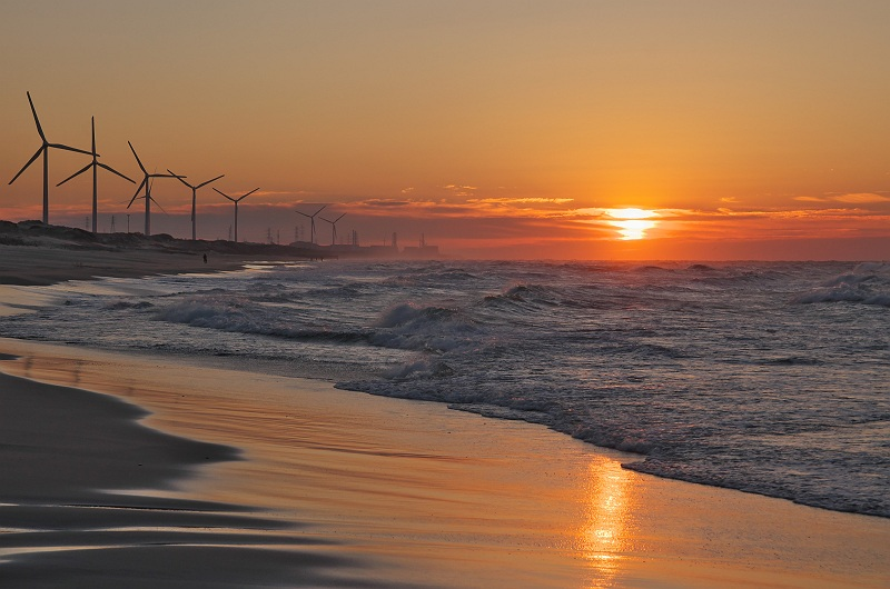 夜明けの海 3
