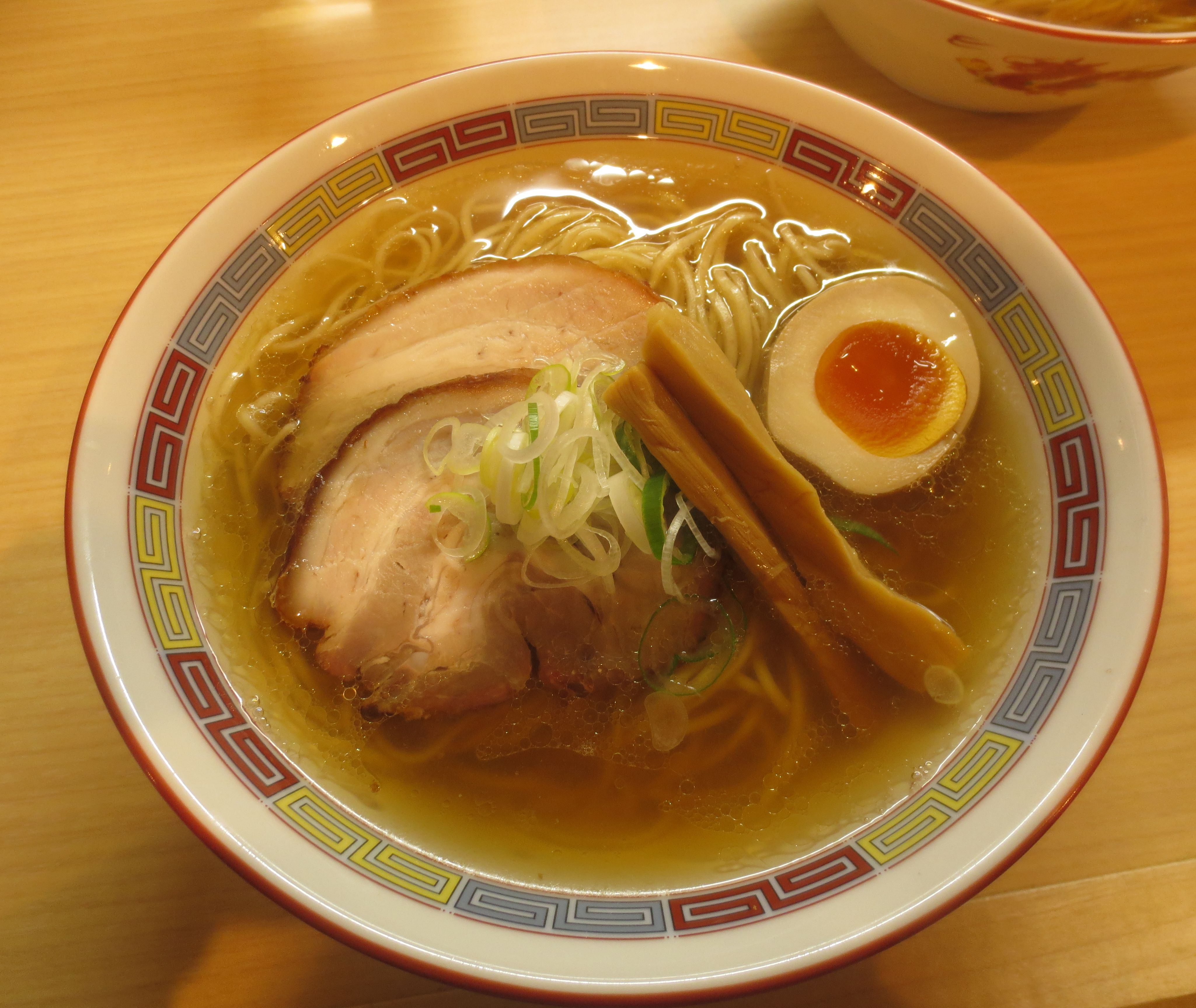 塩らーめん(¥780)