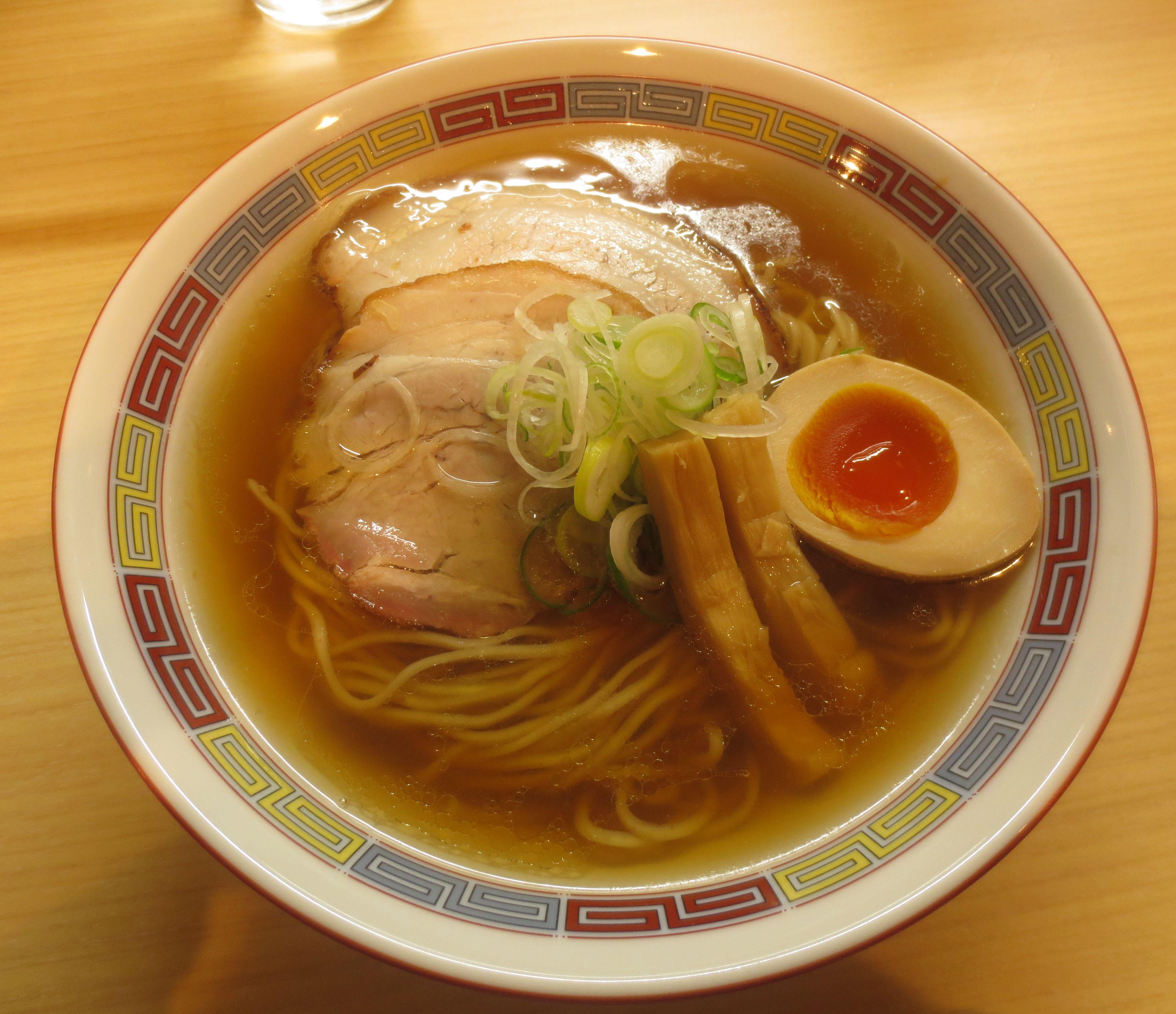 煮干しらーめん(¥780)