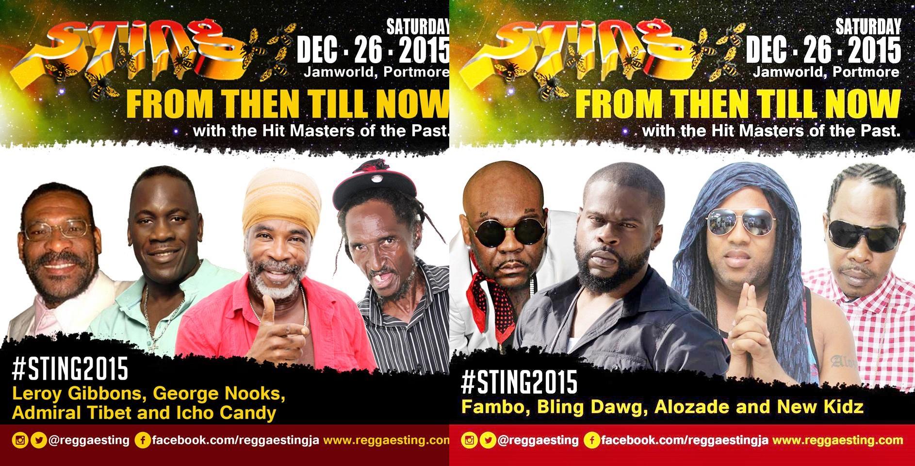 Sting jamaica 2015