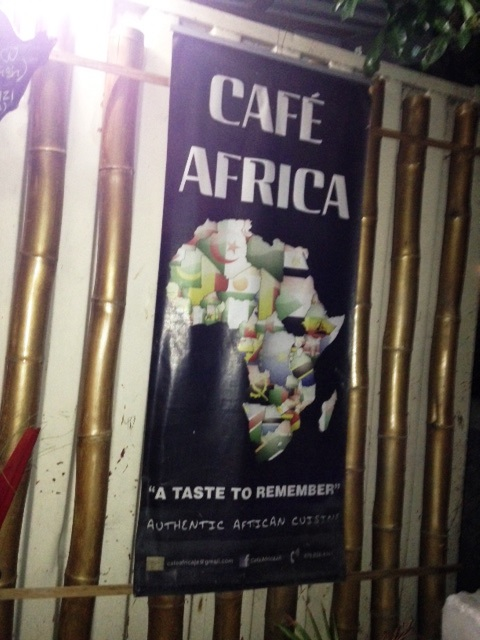 Cafe Africa Kingston Jamaica
