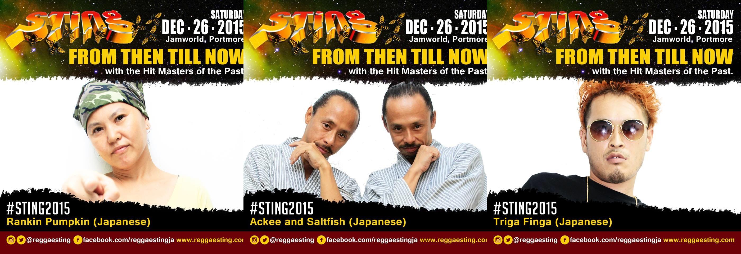 スティング2015 Reggae Sting Japanese ジャパニーズ