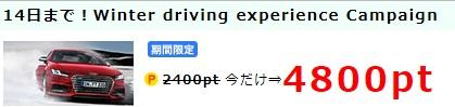 ポイントインカム Audi