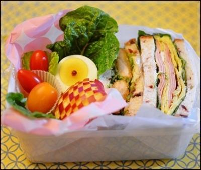 sandwichで!