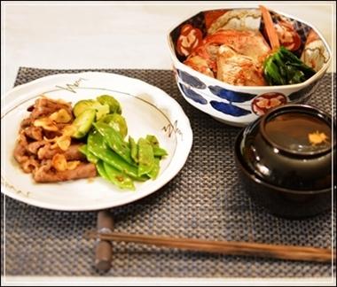 タイの兜煮&ビーフカーリックバター焼き