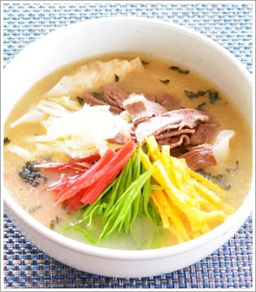 牛のスープ