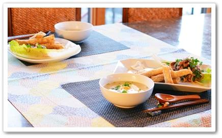 タイ料理で夕飯です