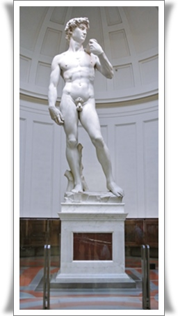 ミケランジェロ、ダビデ像