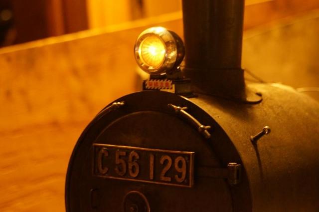C56 129 に載せたシールドビームLP405 塗装済