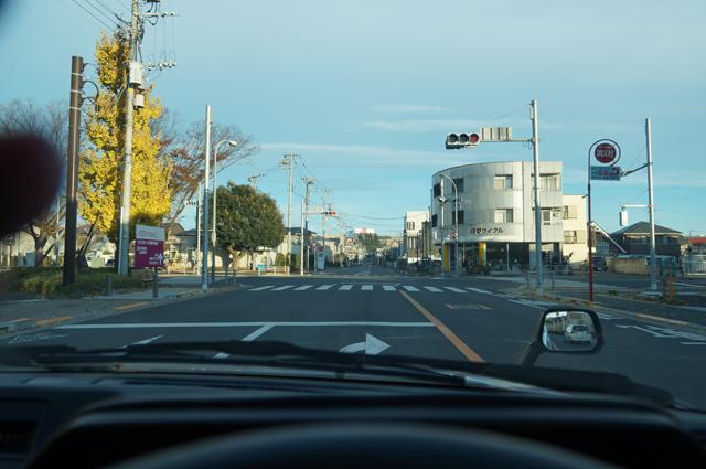 日野泉塚から見える日野自動車