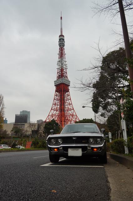 マツダルーチェと東京タワー2015