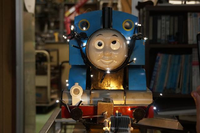 青い汽車 イルミ化