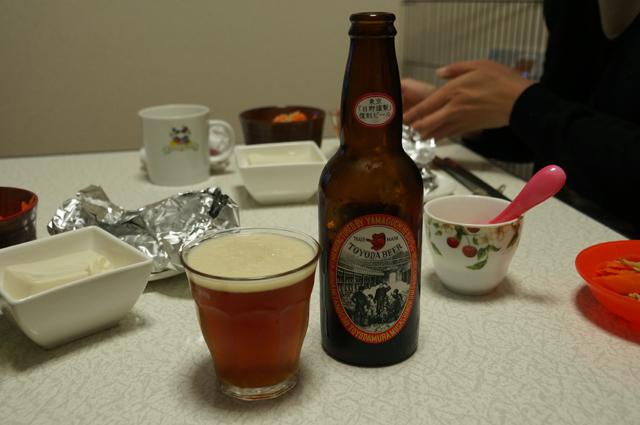 豊田ビールは琥珀色