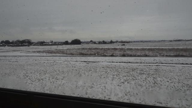 雪の車窓より