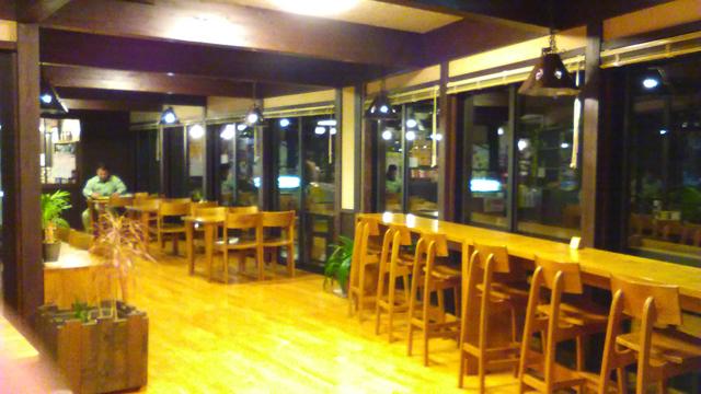 ひらゆの森 売店横の喫茶