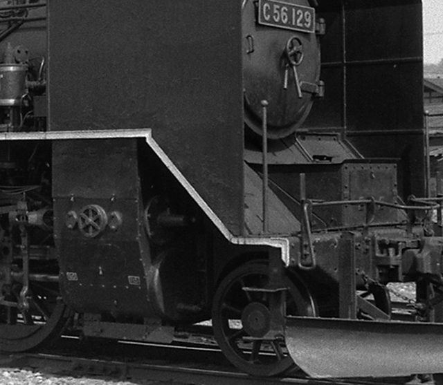 LB21035 気筒被 C56 129 現役当時の姿