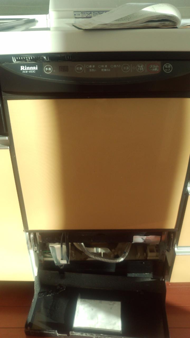 ビルトイン食洗機1