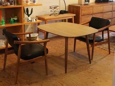 カリモク60 カフェテーブルセット ダイニングテーブル