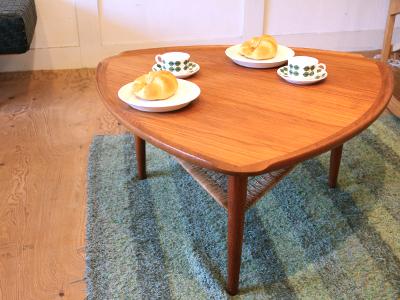 北欧デーンマークコーヒーテーブル