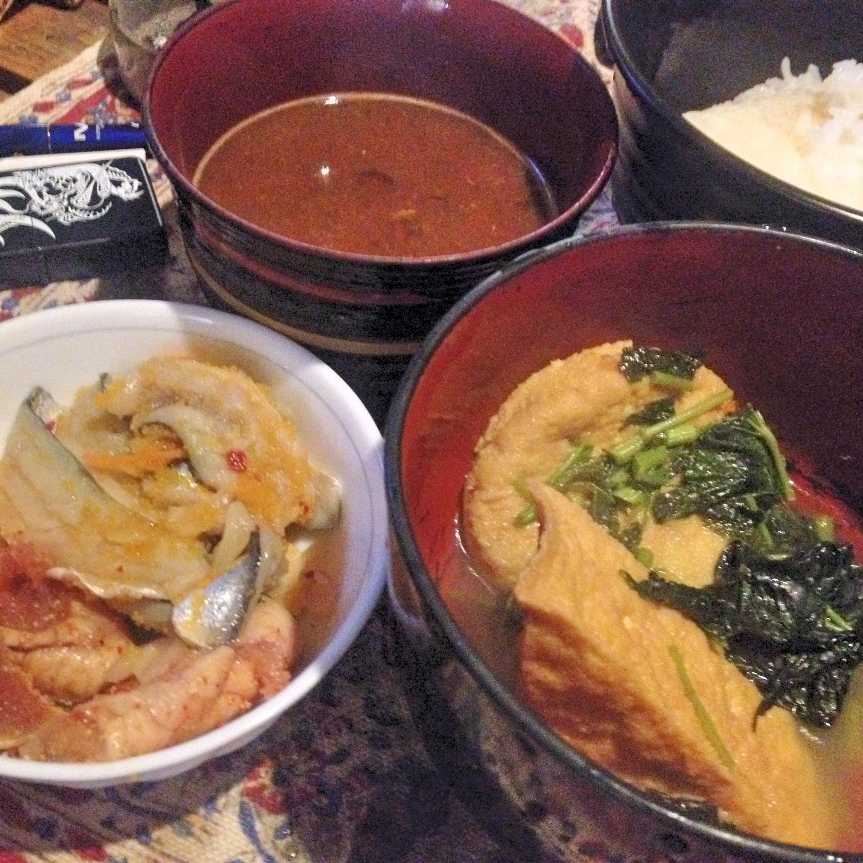 昼の煮物定食