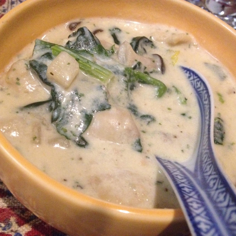 牡蠣と豆乳のシチュー