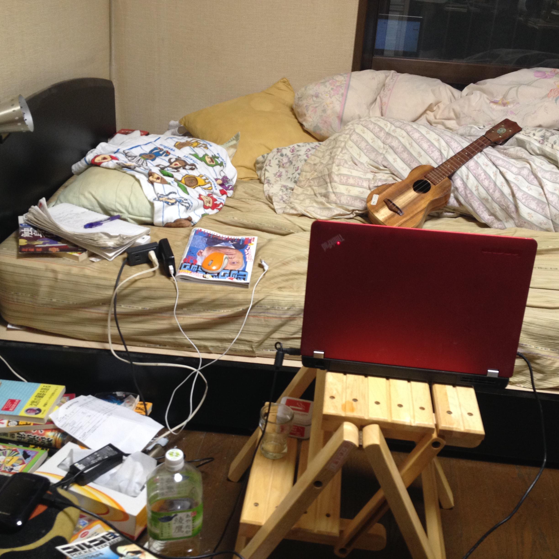 部室化する実家居室