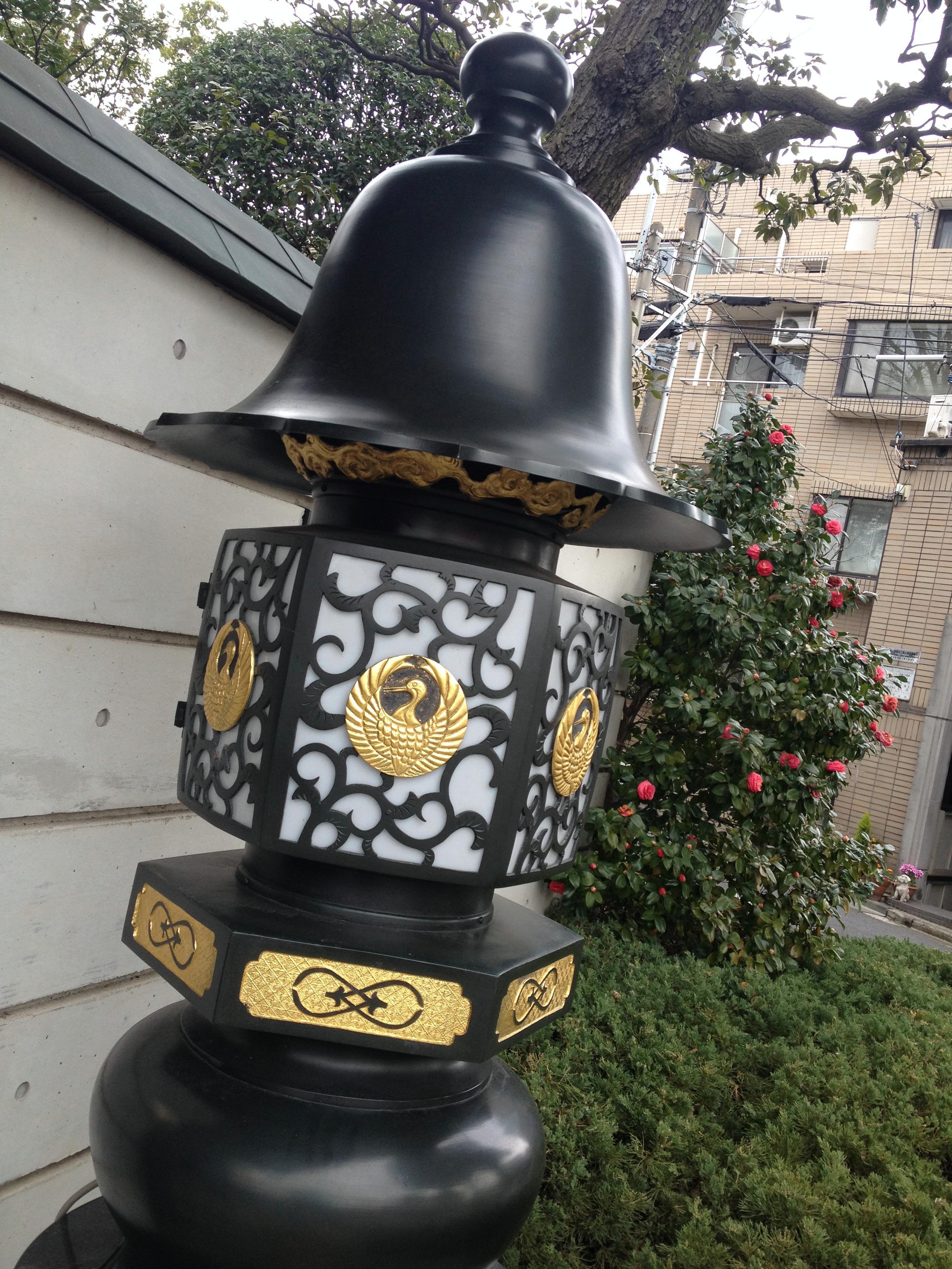 獅子吼教会の表燈籠