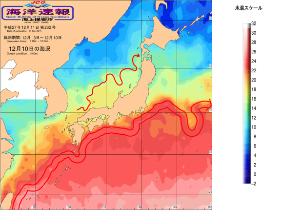 房総海水温と海流