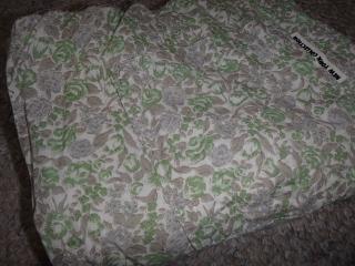 裂き織りした布1