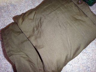 裂き織りした布2