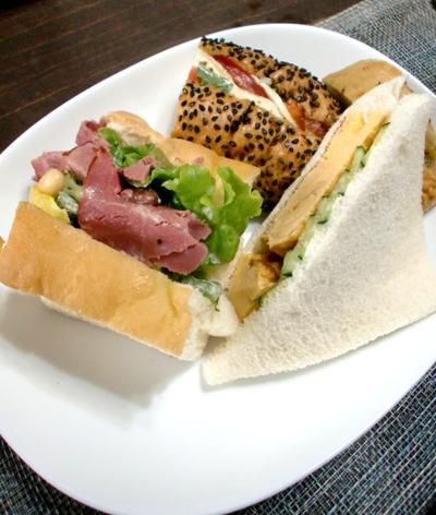 サンドイッチアラカルト
