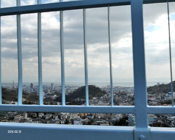 神戸を上から