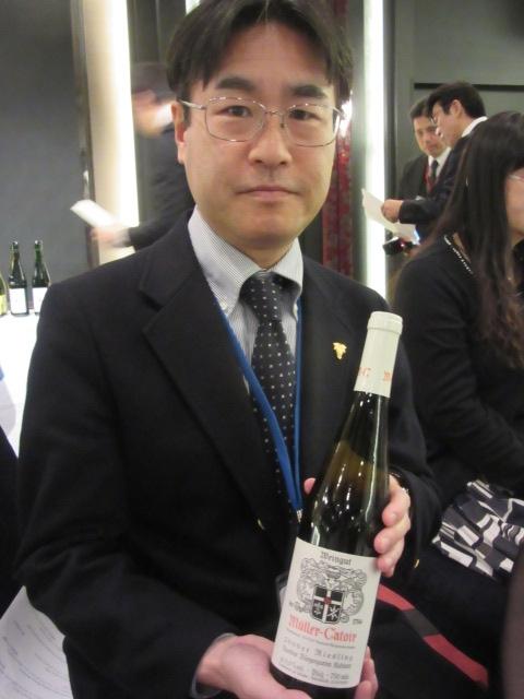表彰のワイン