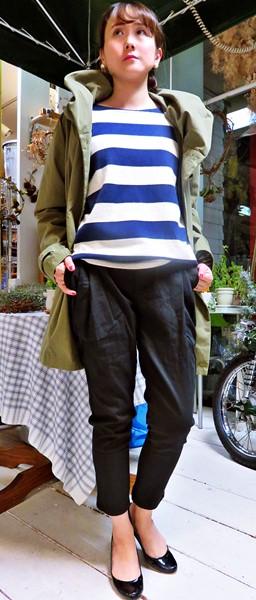 2015-10-24 タックパンツ クレール 060 コーディネート ブログ用