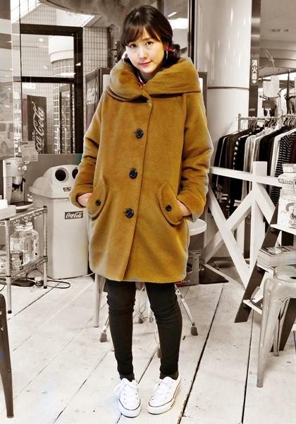 2015-11-14 大襟コート ON&ON 001 セピア ブログ用