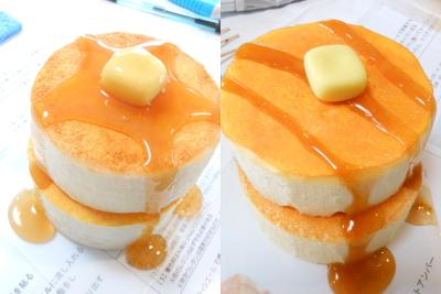 厚焼きホットケーキfu-ha