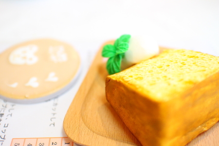 シフォンケーキ・ラテアートnoda