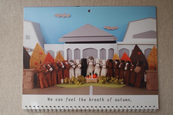 卓上カレンダー 11月