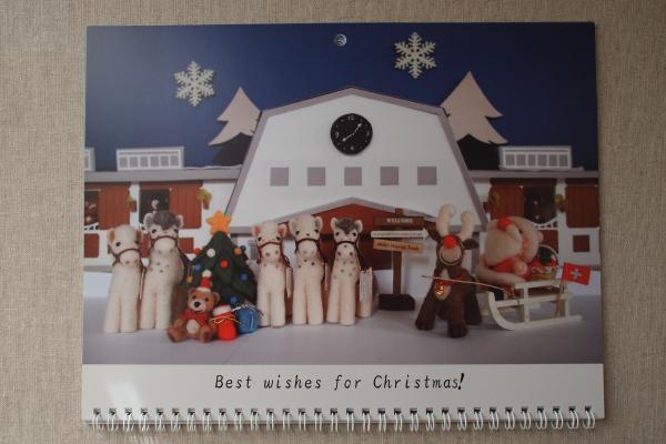 卓上カレンダー 12月