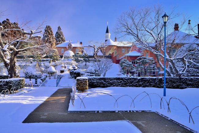 _冬のトラピスチヌ修道院