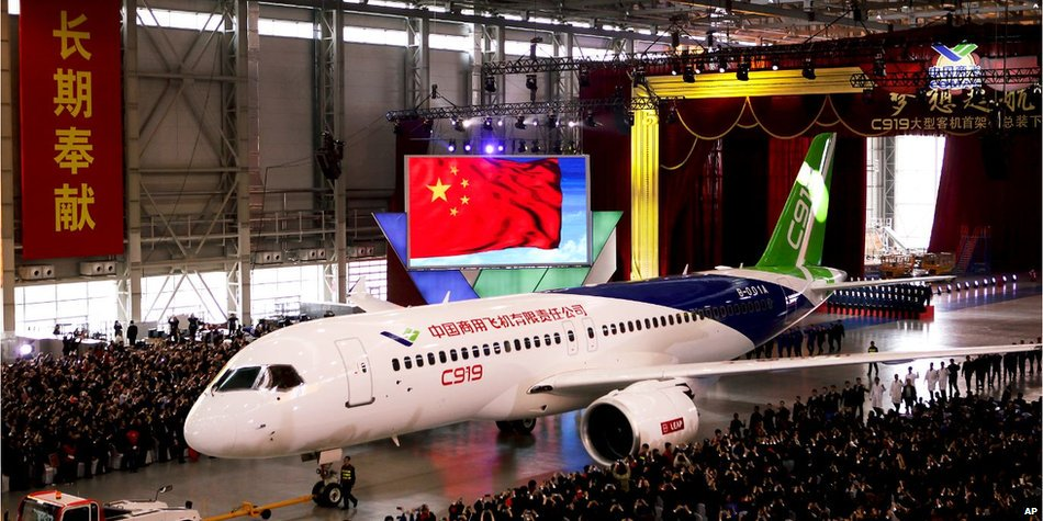 中国国産ジェット旅客機