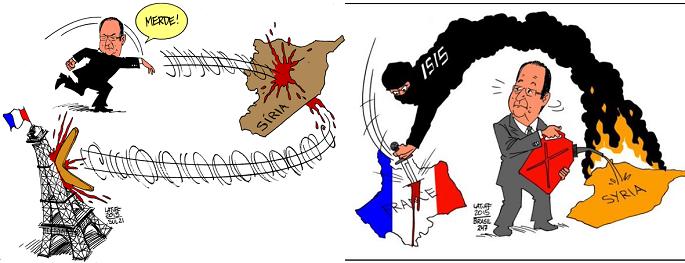 オランドの対シリア 政策