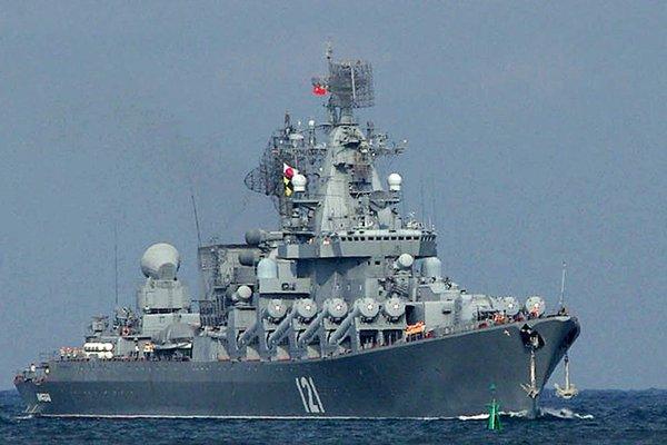 ロシアもミサイル艦載の巡洋艦